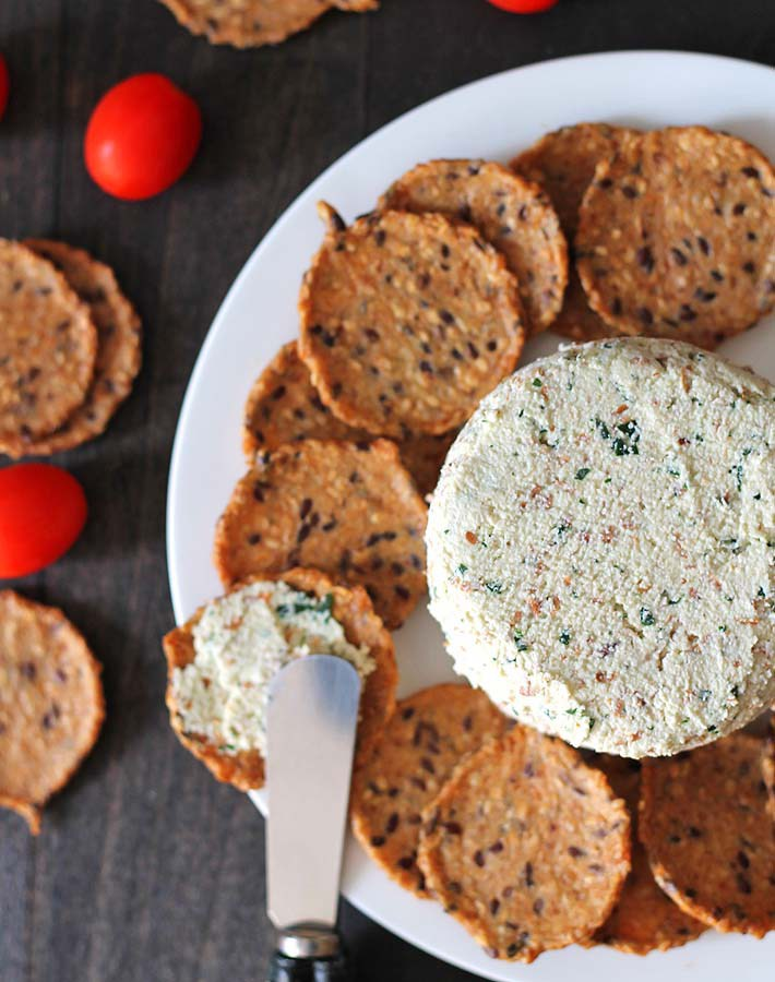 Almond Cheese Spread by by Delightful Adventures