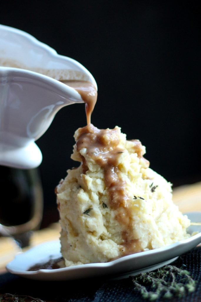 Buttermilk Mashed Potatoes by The Vegan 8