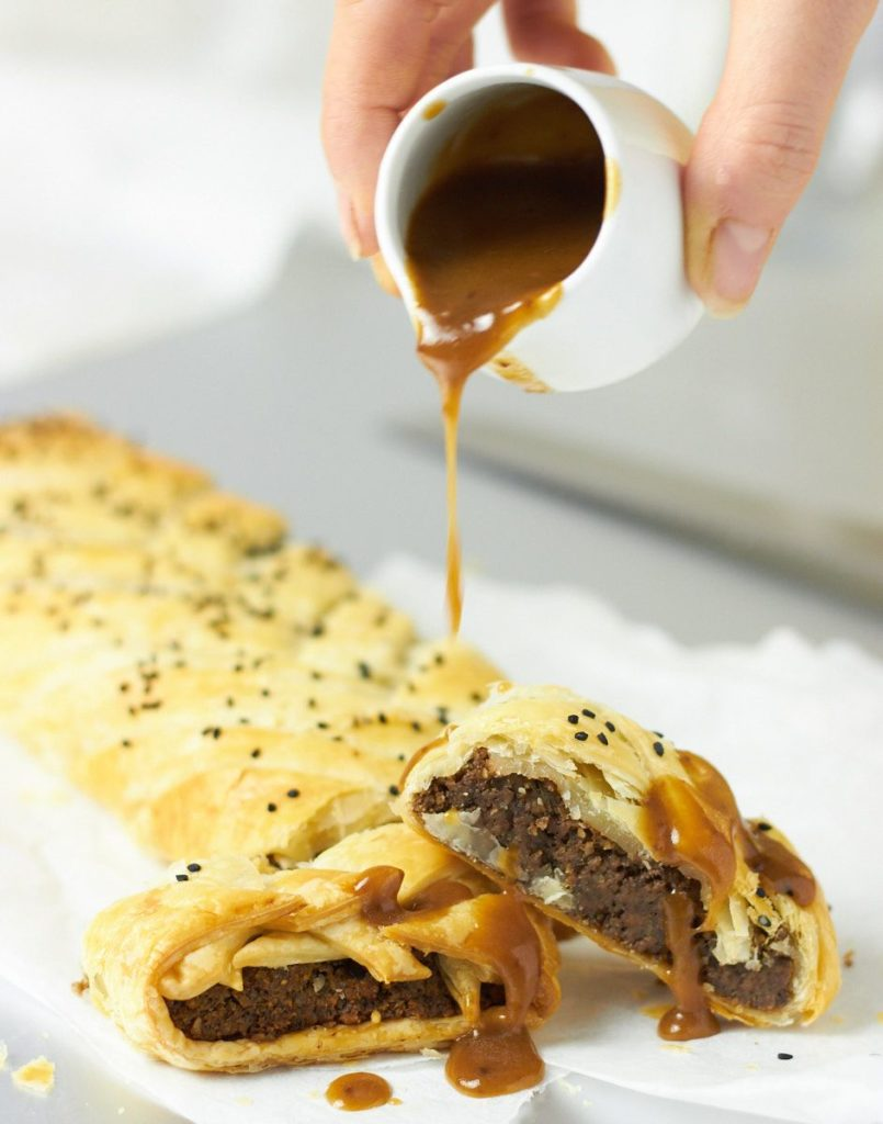 Mushroom Wellington by Delightful Vegans