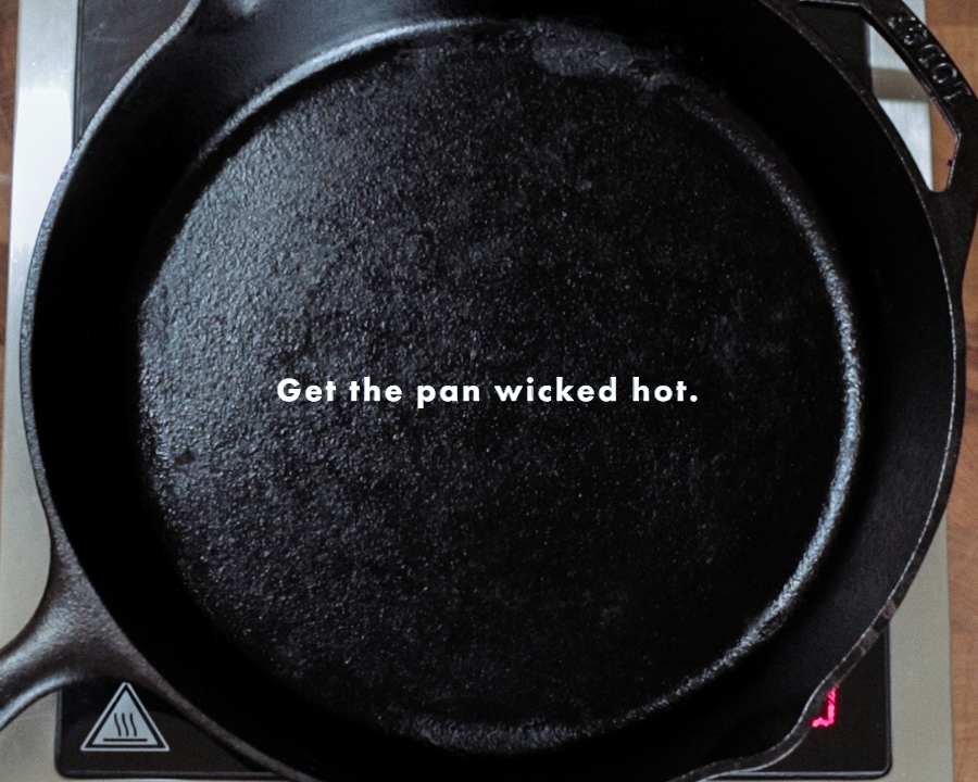 Get the pan Wicked Hot