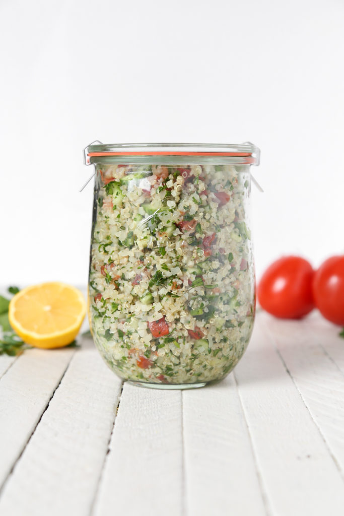 Gluten-Free Cauliflower Quinoa Tabbouleh | The Plant Philosophy