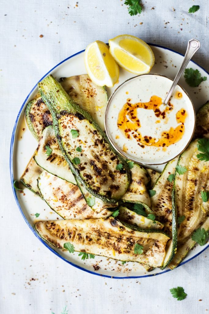 Lazy Cat Kitchen - Grilled Spiced Zucchini Platter