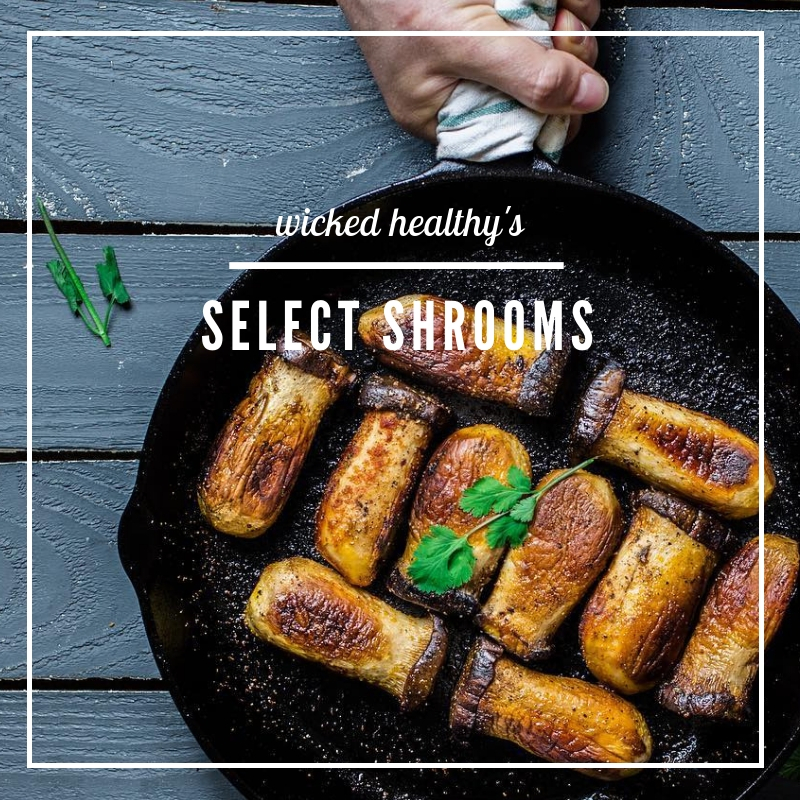 Wicked Healthy - Select Shrooms - Fall Inspiration