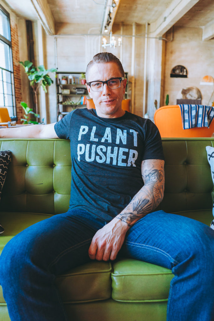 Vegan Fat Kid | Plant Pusher Tee