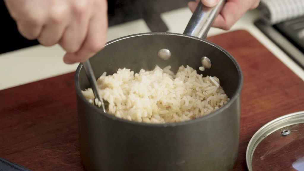 Perfect fluffy brown rice