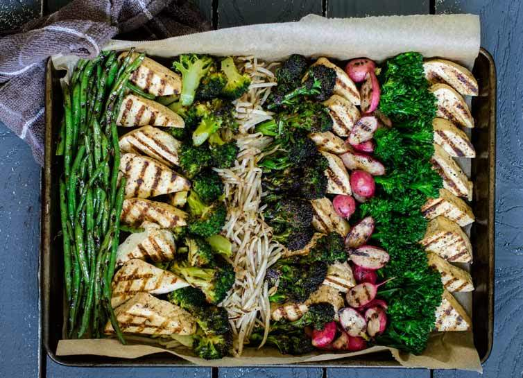 beautiful veggie platters for the holidays
