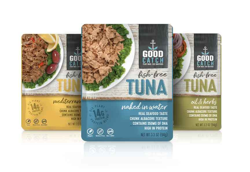 good catch plant-based tuna products
