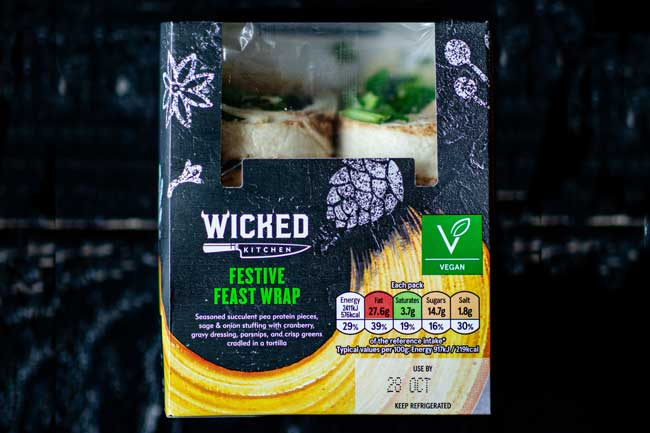 festive feast wrap at tesco uk