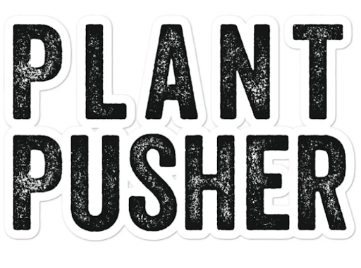 wicked healthy plant pusher stickers