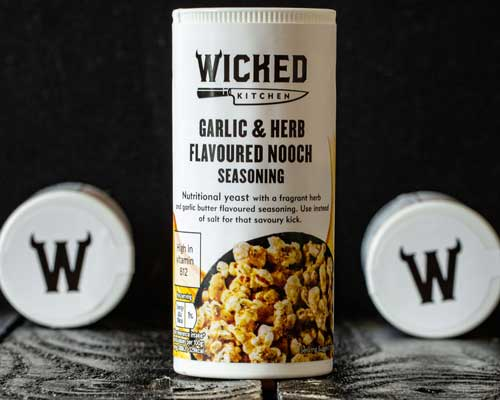 garlic & herb flavoured nooch seasoning
