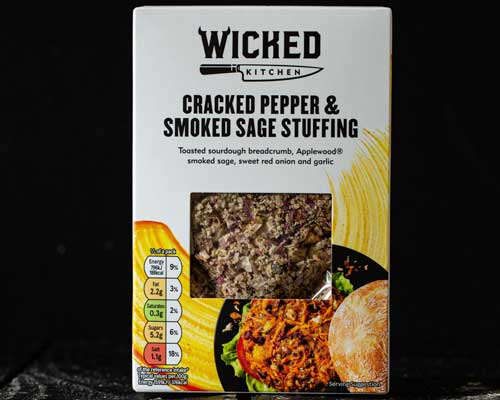Cracked Pepper & Smoked Sage Stuffing wicked tesco