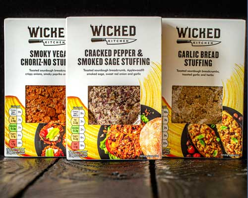 wicked kitchen stuffing at tesco uk