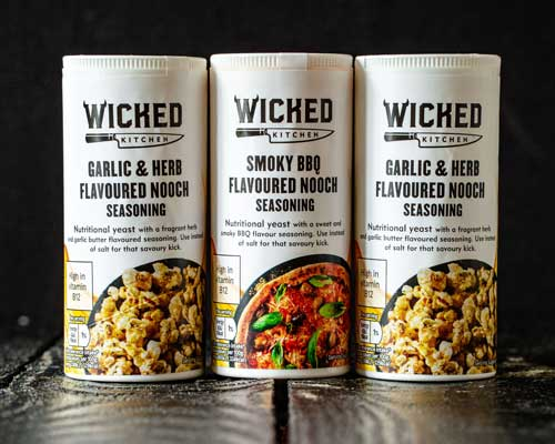 TESCO WICKED NOOCH PRODUCTS